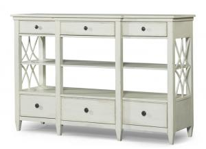 Trisha Yearwood Home Bakersfield Sideboard w/Lattice Pattern On Sides
