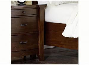 Whistler Retreat 3 Drawer Nightstand by Napa