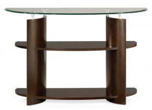 Apex Glass Top Sofa Table