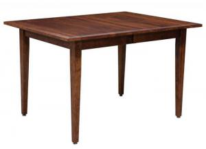 Trailway Wood Freeport Customizable Solid Wood Dining Table w/2 Leaves