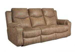 88161MP Marvel Double Reclining Sofa w/Power Headrests by Southern Motion