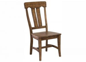 The District Slat Back Side Chair