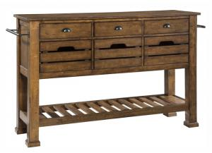The District Sideboard w/Tall Legs