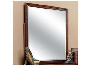 Tamarack Cherry Square Mirror by New Classics