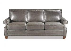 L164050 All Leather Sofa by Craftmaster