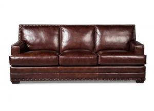 L165250 All Leather Sofa by Craftmaster