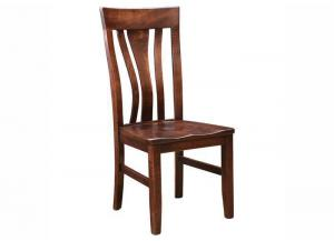 Trailway Wood Miami Side Chair w/Splat Back
