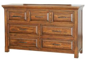 Hill Crest 7 Drawer Dresser by Napa