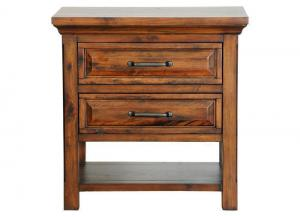Hill Crest 2 Drawer Nightstand by Napa