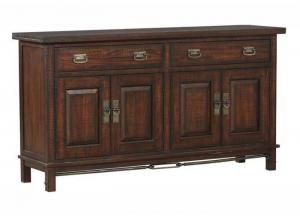 Sundance Occ 4-Door Dining Buffet w/Removable Wine Rack