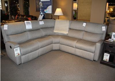 Image for Clearance - Graphite 5pc Sectional by Flexsteel