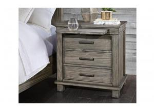 Glacier Point 3-Drawer Nightstand by A.America