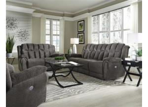 7296 Double Power Leather Reclining Sofa by Southern Motion