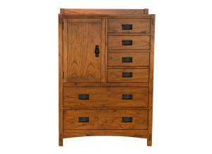 Mission Hill 6 Drawer Chest w/Door Cabinet by A.America