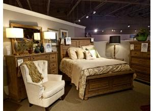 Clearance - Dresser, Mirror, Chest & Queen Bed by Liberty