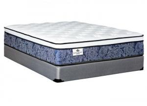 Welliver Eurotop full mattress by Kingsdown