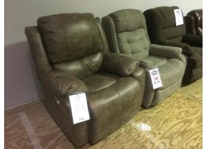 CLEARANCE-4521 Double Power Recliner by Franklin