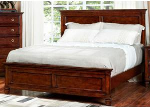 Tamarack Cherry King Bed by New Classics