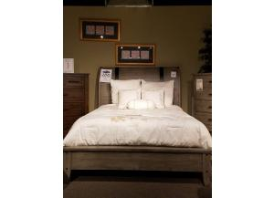 Clearance - Queen Sleigh Bed by Standard