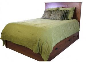 Elegance Platform Queen Storage Bed by Daniels Amish