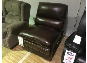 U8335 Leather  Armless Chair by Cheers