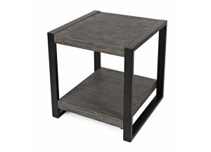 PINNACLE  END TABLE              by JOFRAN INC.