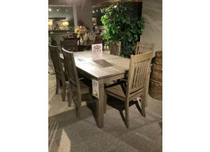 Clearance - Solid Acacia Dining Set by A. America