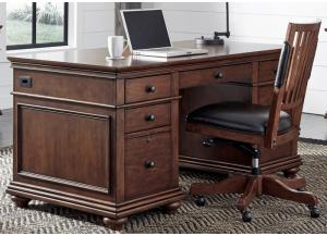 Oxford Executive Desk by Aspen
