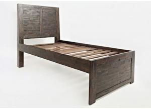 V-Jackson Lodge Twin Panel Bed by Jofran