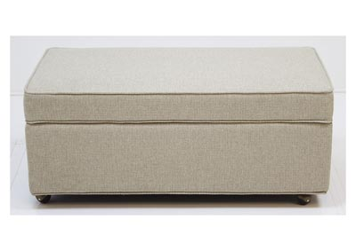 4020 Customizable Storage Ottoman by Hallagan
