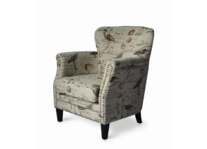 PHOEBE CREAM ACCENT CHAIR by JOFRAN INC.