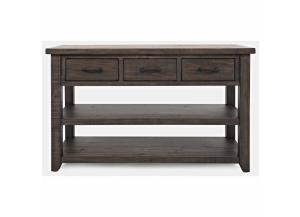 MADISON COUNTY BARNWOOD SOFA TABLE by JOFRAN INC.