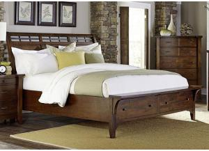 Whistler Retreat Queen Platform Storage Bed by Napa