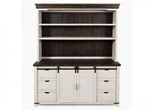 MADISON COUNTY WHITE HUTCH TOP by JOFRAN INC.