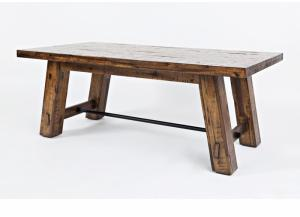 Cannon Valley Trestle Cocktail Table by Jofran