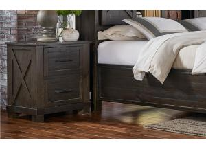 Sun Valley 2-Drawer Nightstand by AAmerica