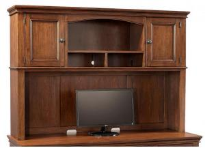 Oxford Credenza Desk Hutch by Aspen