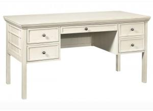 Preferences Pedestal Desk by Aspen