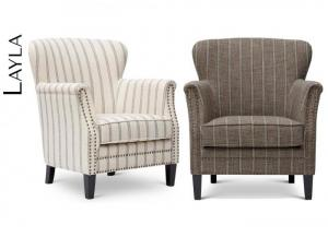 LAYLA FLAX ACCENT CHAIR by JOFRAN INC.