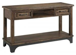WHISKEY RIVER SOFA TABLE by INTERCON, INC.