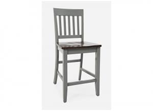 DECATUR DARK COUNTER STOOL by JOFRAN INC.