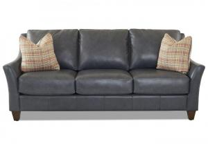 Joanna All Leather Sofa by Klaussner