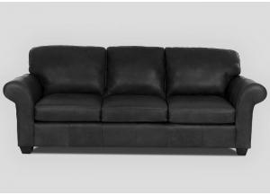 Moorland All Leather Sofa by Klaussner