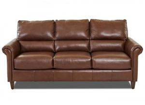 Adeline All Leather Sofa by Klaussner
