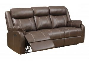 Domino Reclining Sofa by Klaussner
