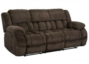 SEYMORE RECLINING SOFA WITH DROP DOWN TABLE by STANDARD FURNITURE MFG. CO. INC.