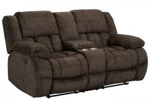 SEYMORE RECLINING CONSOLE LOVESEAT by STANDARD FURNITURE MFG. CO. INC.