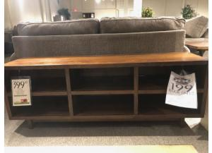 Clearance - Open Console w/ 6 Compartments by Aspen