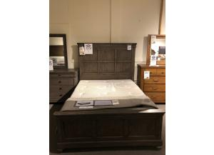 Clearance - Queen Panel Bed by Legacy