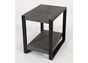 PINNACLE  CHAIR SIDE TABLE       by JOFRAN INC.
